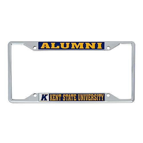 Desert Cactus Kent State University License Plate Frame for Front Back of Car (Alumni)