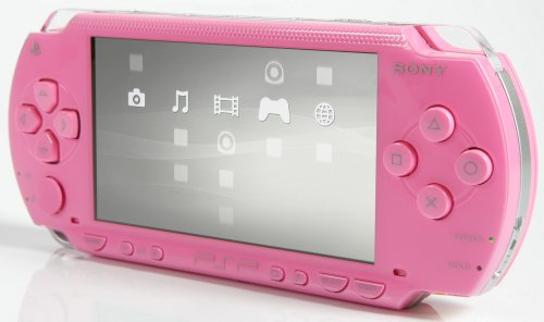 PlayStation Portable - PSP Konsole Pink (Value Pack)