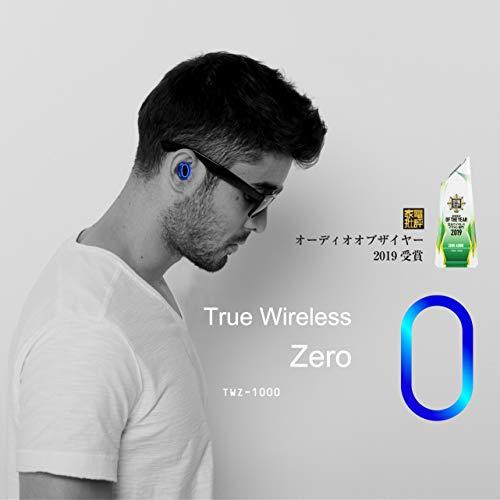 ZEROAUDIOTWZ-1000完全ワイヤレスイヤホンZeroブラック