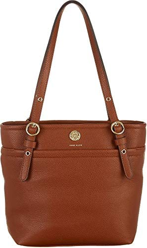 Anne Klein Pocket Small Tote Mocha 2 One Size product image