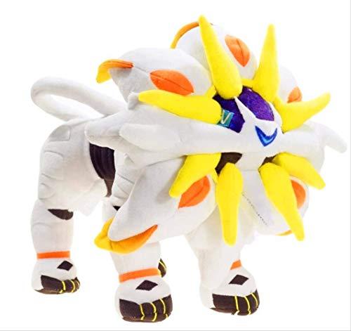 XIAOMOLAO Pokemon Solgaleo Plüschtier 30Cm, Weiches Stuffed Dolls Geschenk Für Kinder Weihnachten
