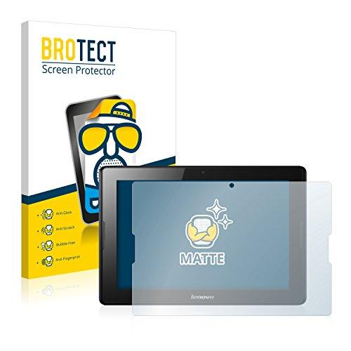 BROTECT 2X Entspiegelungs-Schutzfolie kompatibel mit Lenovo IdeaTab A10-70 A7600 Bildschirmschutz-Folie Matt, Anti-Reflex, Anti-Fingerprint