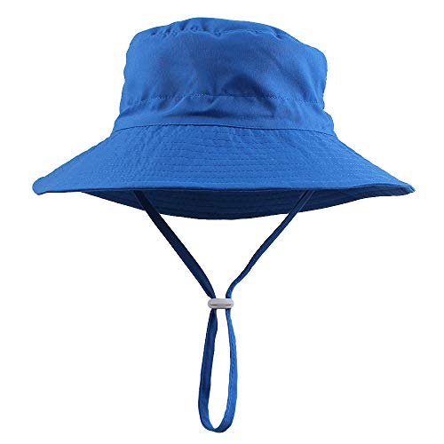 Peecabe Baby Girls Bucket Hat Toddler Cotton Summer Sun Hat with Bow