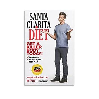 Santa Clarita Diet TV Series Sheila Hammond Poster W6 HD Print on Canvas Painting Wall Art for Living Room Decor Boy Gift 08x12inch 20x30cm