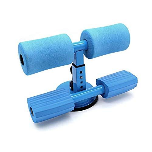 Barra de piso para sentarse, equipo ajustable, fuerte succión, fácil para el entrenamiento del núcleo abdominal, estiramiento de brazos y piernas, entrenamiento de ejercicios en casa, equipo de fitnes