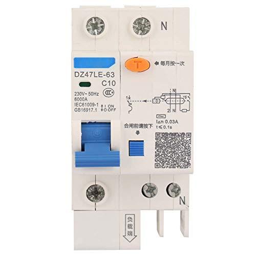 Interruptor automático diferencial 1P + N 10A...