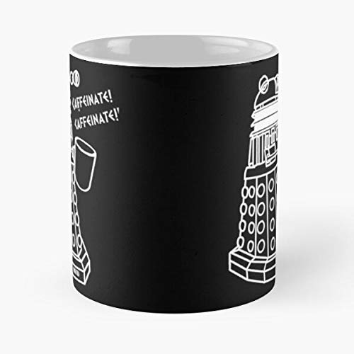 lumeCube Doctor Coffee Dr Who Dalek Whovian Best 11 oz Kaffeebecher - Nespresso Tassen Kaffee Motive