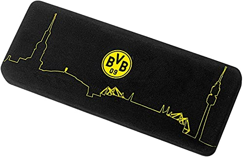 Borussia Dortmund Brillenetui - Hartschale / Etui mit Brillentuch BVB 09
