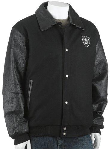 GIII Oakland Raiders Varsity Jacke, Herren, Oakland Raiders