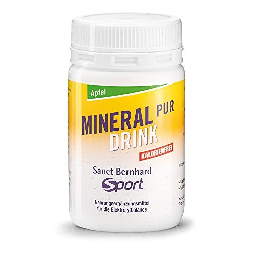 Sanct Bernhard Sport Mineral-Pur-Drink Apfel, 100g Pulver