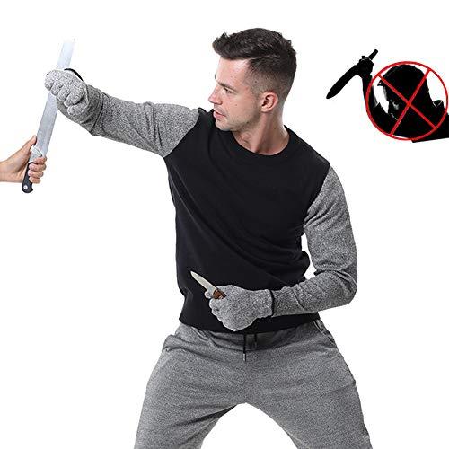 TBDLG Stichfeste Weste, Security Anti Messer Weiche unsichtbare Weste, mit Schutz für Körper Männer Frauen Polizei,XL