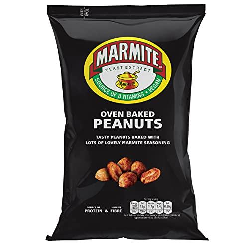 Marmite Peanuts - Vegan Savoury Snack (Pack of 9)
