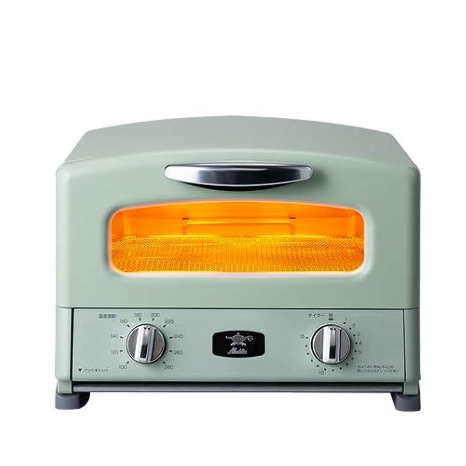 餌竜巻リーダーシップAladdin グラファイト グリル&トースター 4枚焼き/アラジン AGTーG13A ワンサイズ グリーン