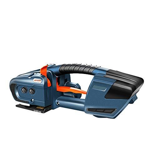 HANMIAO Umreifungsgerät Akku Tragbare Elektrische Ballenpresse Handheld Schweißen Umreifungsgeräte für 13-16mm PET/PP Bandbreite Chargable Welding Strapping Tool