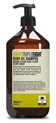 Eight Triple Eight Hanföl-Shampoo, 1 Liter