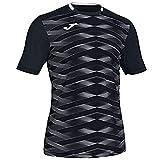 Joma Academy Camisetas, Hombre, Negro, XL
