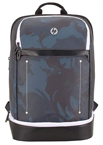 HP Backpack with Single Lunch Box Compartment (Camo in Blue)