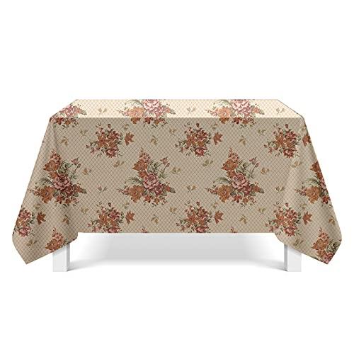 YDyun Cubierta de Mesa de Simples Adecuado para la decoración de cocinas caseras, Varios tamaños Mapa de Textura de Estilo Popular
