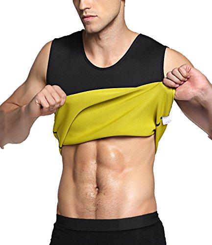 Herren Body Shaper Shorts Hot Thermo Slimming Sauna Hose Gewicht Verlust