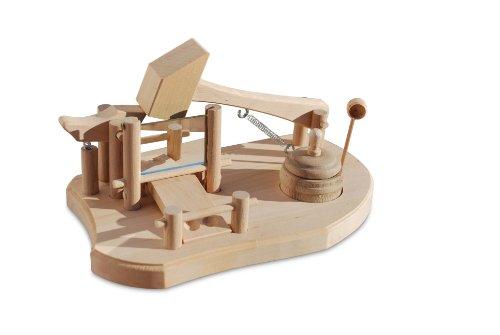 Sepp Bumsinger's Original Bayerische Schnupfmaschine Material Holz, handarbeit by FUNICE Design