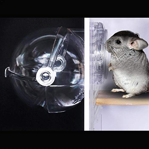 Neckip Kleintiere Bad Kleintier Bad Auf Dem Flur Chinchillas Meerschweinchen Eichhörnchen Igel Käfig Externen WC Bad Bad Sand Pot Pet Supplies
