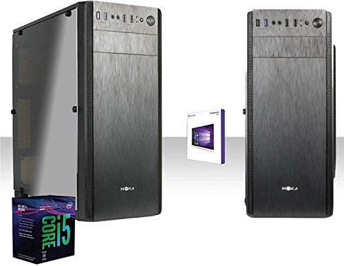 PC DE ESCRITORIO INTEL I5-9600k 4.6GHZ / WINDOWS 10PRO / WIFI 300MBPS / Hdd 1TB / RAM 8GB DDR4 2666MHZ / HDMI
