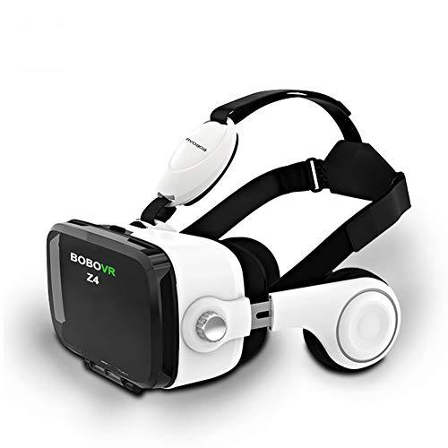 EASON Gafas VR, VR Box Casco de Realidad Virtual Gafas 3D Mini Google Cartón VR Box 2.0 para 4-6 'Teléfono móvil
