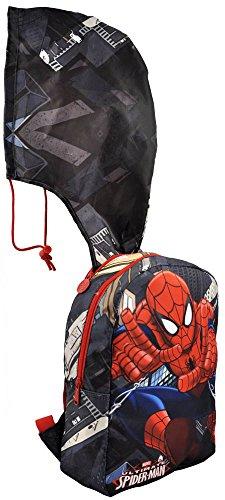 Spider Man - Zaino con Cappuccio