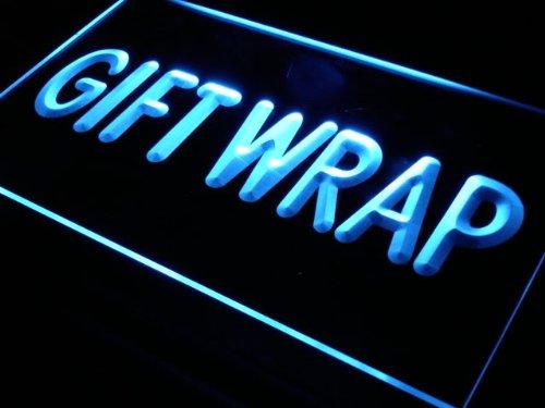 ADV PRO Enseigne Lumineuse j272-b Gift Wrap Display Supply Shop Neon Light Sign