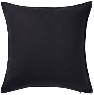 comprar comparacion Ikea Gurli - Funda de cojín, color negro - 50x50 cm, negro, 3 unidades