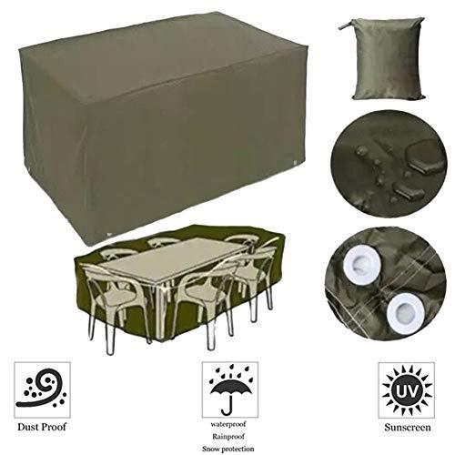 HYCZW Fundas Muebles Jardín, 210Doxford Cubierta Protectora Exterior De Polvo para Mesa...