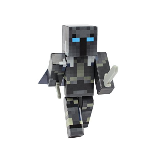 EnderToys Iron Armor Crusader Action Figure Toy by [Not an Official Minecraft Product] …
