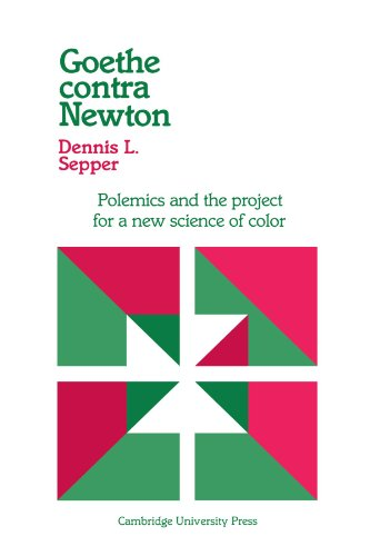 Goethe contra Newton: Polemics and the Project for a New Science of Color