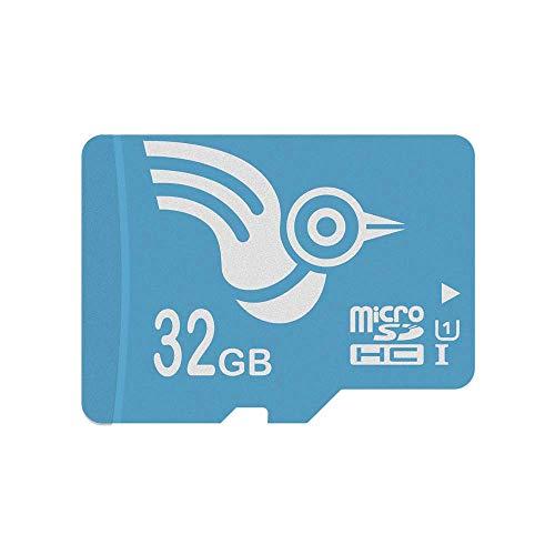 ADROITLARK Speicherkarte 32GB Micro SD Karte Klasse 10 mit SD Adapter für Kamera/Tablet/Smart Watch/Telefon/Dashcam (U1 32 GB)