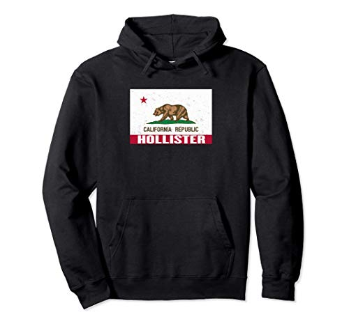 Hollister, California -Bandera de la República de CA apenad
