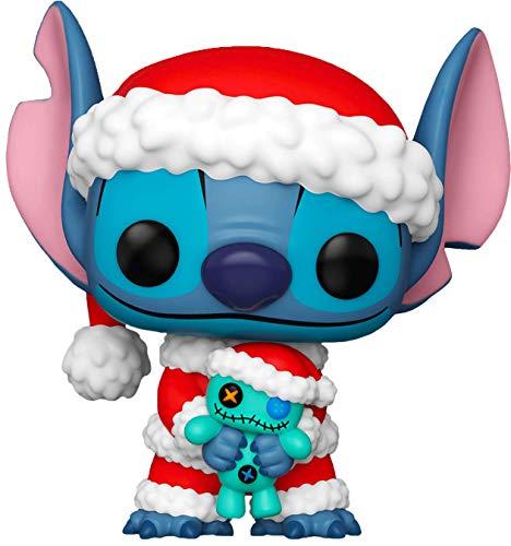 Funko Pop! 52252 Lilo & Stitch – Punto Babbo Natale con Scrump #983