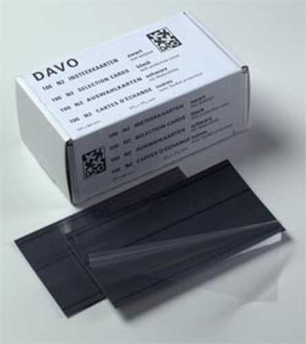 DAVO 29540 N2 stockcards (147x84mm) 2 Strips (per 100)