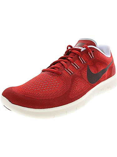 Nike Free RN 2017 Mens Running Trainers 880839 Sneakers Shoes (UK 7 US 8 EU 41, University red Port Wine 602)