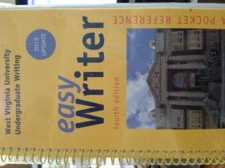 Easy Writer, A Pocket Reference (Custom Edition for West Virginia University Undergraduate Writing)