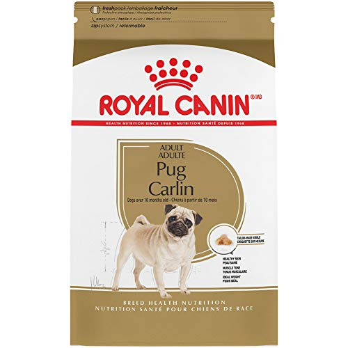 Royal Canin Pug Adult Breed Specific Dry Dog Food, 2.5 lb. bag