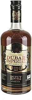 Ron Premium Blend DUBAR IMPERIAL, 37,5% vol. - Premium Brauner Rum, in amerikanischen Eichenfässern gereift, Flasche 700ml aus der Dominikanischen Republik.