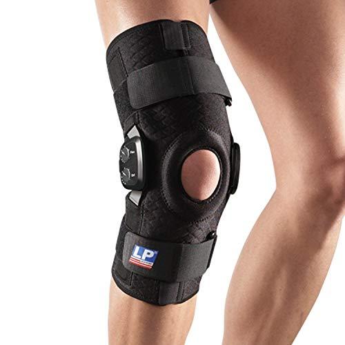 LP Support Knieorthese 793CA mit polyzentrischen Gelenkschienen, Größe:S, Farbe:schwarz