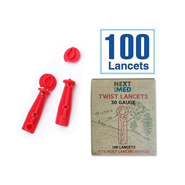 buy  Next Level Med Diabetes Testing Kit | Includes 100 ... Blood Glucose Monitors