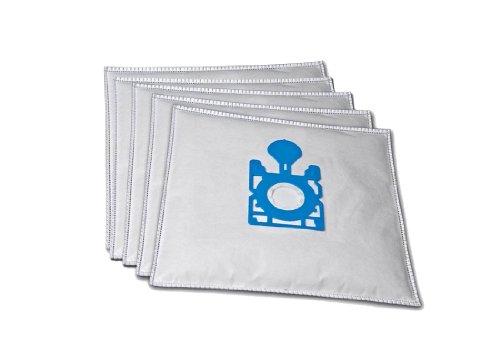 5 Premium Staubsaugerbeutel komaptibel für Quigg BS 57/5, BS 59/1 inkl. 1 Motorschutzfilter