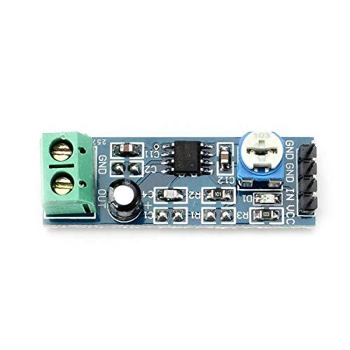 Módulo electrónico Módulo 20 veces gana el módulo amplificador de audio con resistencia ajustable LM386 Equipo electrónico de alta precisión