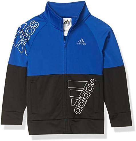 adidas Boys Tricot Active Track Warm Up Jacket BoS Team Royal Blue 4 product image