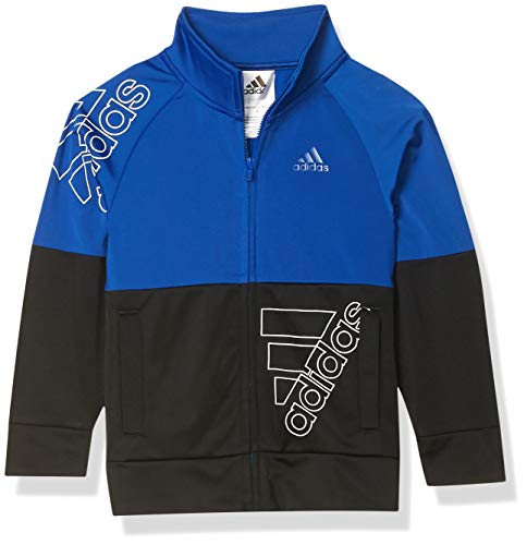 adidas Boys' Tricot Active Track Warm-Up Jacket, BoS Team Royal Blue, 5
