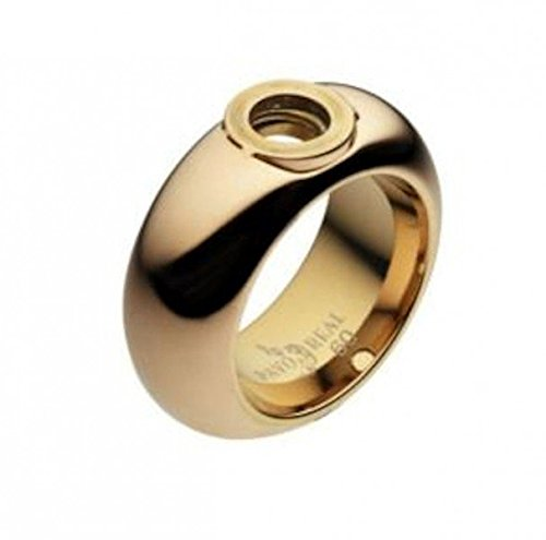 Pavo Real Ring Barcelona Gold 11 mm curved polished