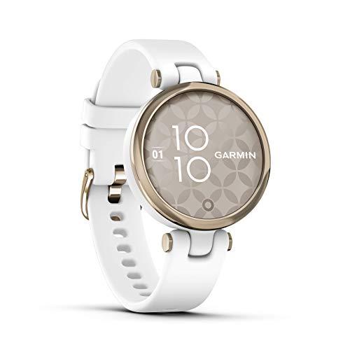 """Garmin Lily """"Sport"""" – modische Damen-Smartwatch mit hochwertiger Aluminium-Lünette, Gesundheits- & Fitnessdaten für Frauen, 2,54 cm Touchdisplay, Smartphone Benachrichtigungen & 5 Tagen Akkulaufzeit"""