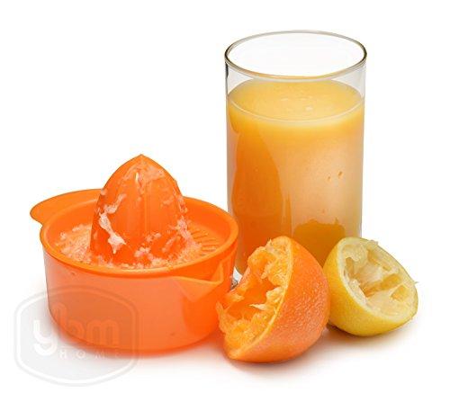YBM Home CITRUS Manuelle Hand Saftpresse mit Schale, Zitronen, Limetten und Orangen Farben kann variieren # ba147 keine Angabe